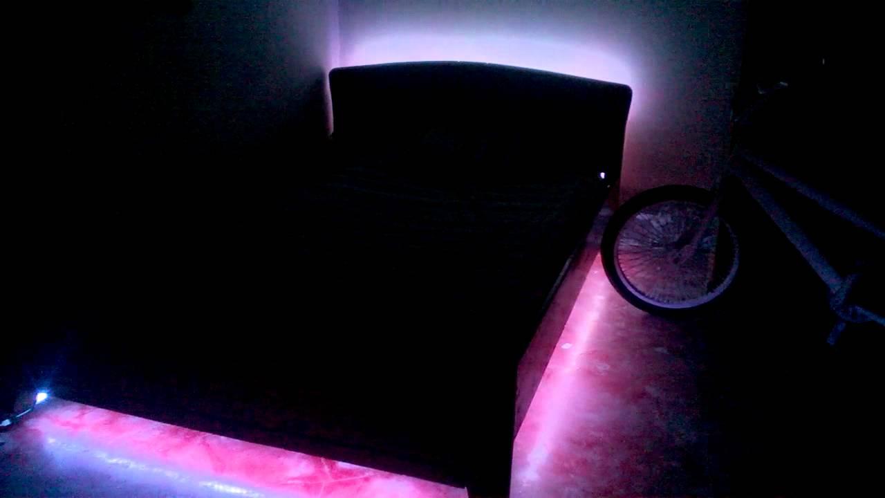 Luces Led Para Cabeceros De Cama Affordable Cabecero Madera Luces  ~ Luces Led Para Cabeceros De Cama