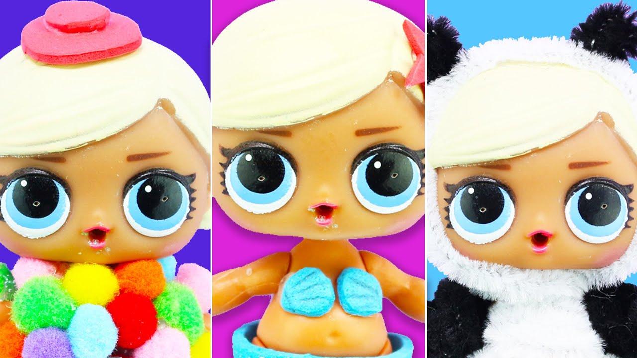 5 Diy Lol Surprise Doll Custom No Clay No Painting No Sewing