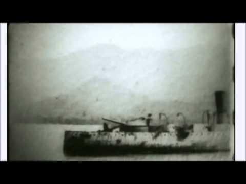 Antonio Eulate: filmación del acorazado Vizcaya hundido en la Bahía de Santiago de Cuba (1898)