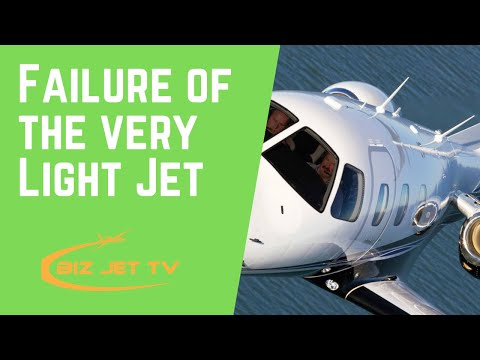 Failure of the Very Light Jet (VLJ)
