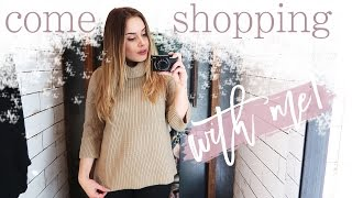 COME SHOPPING WITH ME + HAUL | Hello October