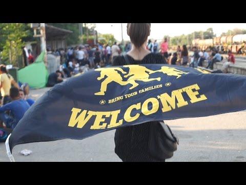 Makedonie: stanice před Pevností Evropa