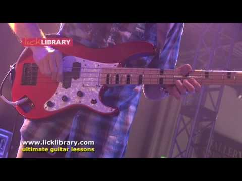 Guthrie Govan & Billy Sheehan - Cause We've Ended as Lovers - Licklibrary LIMS 2008
