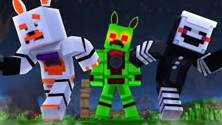 Funtime Foxy Becomes A Zombie (Minecraft Fnaf Roleplay Adventure)