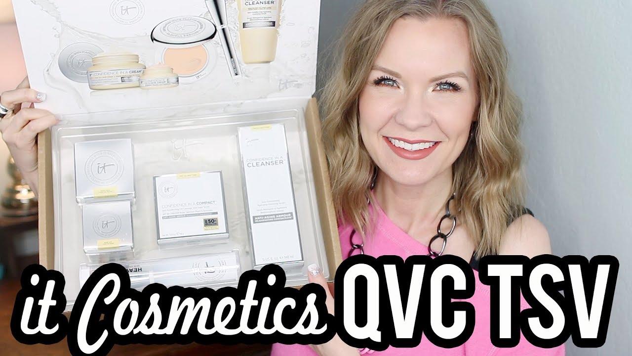 It Cosmetics Qvc Tsv January 2018 Lipglossleslie Youtube