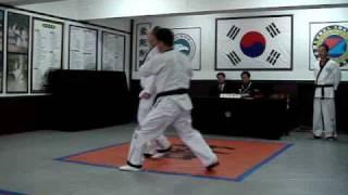 Korean Hapkido Red Belt Test