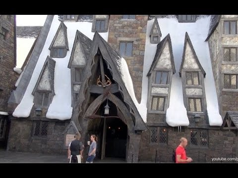 The Three Broomsticks and The Hog's Head Tour The Wizarding World of Harry Potter Universal