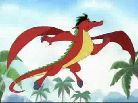 American Dragon VS Stitch