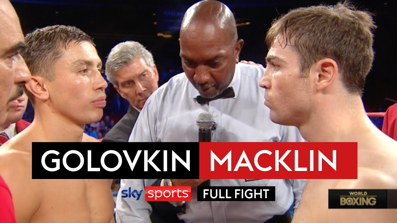 When Gennady Golovkin destroyed Matthew Macklin within 3 rounds | Fight Rewind