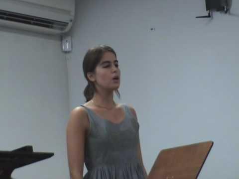 AudEV16Jun - Catarina Sampaio - Bist du bei mir - ...