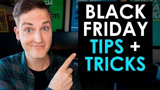 Black Friday Hacks — 5 Black Friday Tips and Tricks
