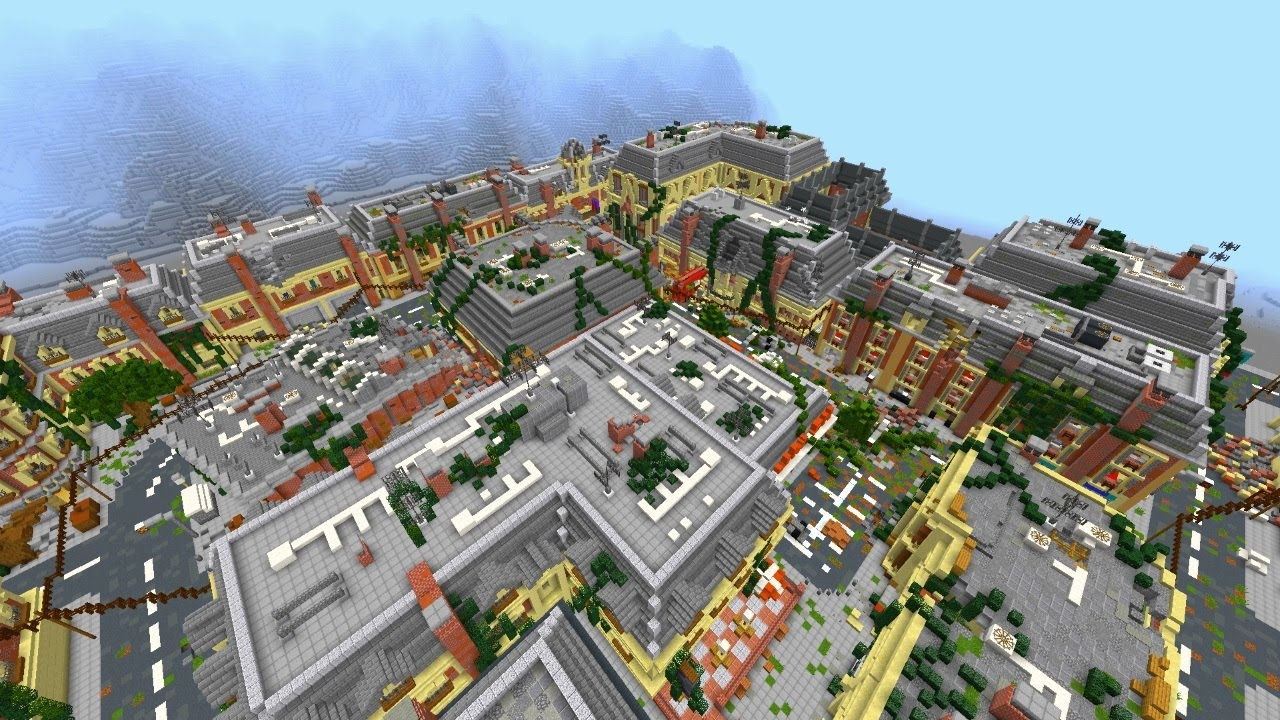 Minecraft: NEW Apocalyptic City Building Project #10 Introduction
