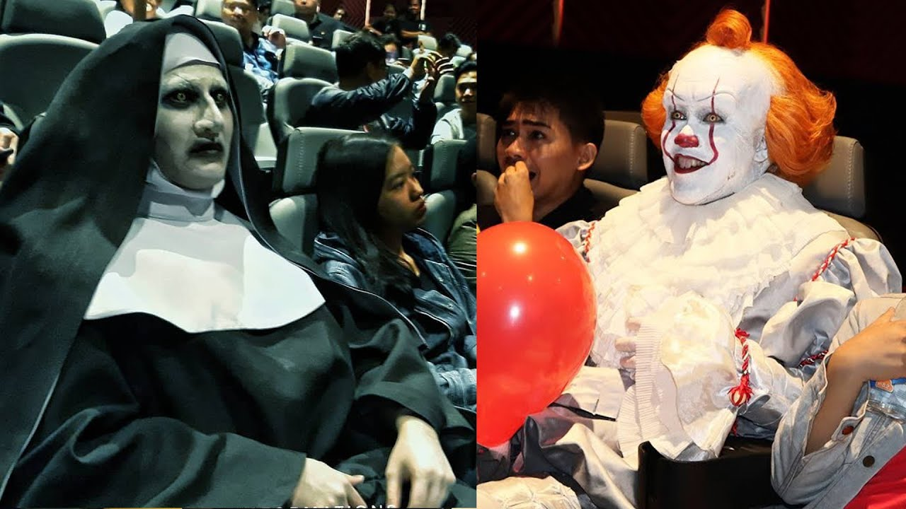 Download FUNNIEST Scare Pranks COMPILATION | Pennywise VS Valak! (Who's Scarier?!)