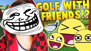 MOST RANDOM MINI GOLF!?  - Golf With Friends