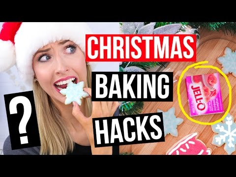 Pinterest HACKS TESTED || Christmas BAKING Edition!!