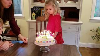 How to Blow Out Birthday Candles