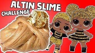 Altın Slime Challenge Altın Maske vs Altın Boya Slaym Challenge Bidünya Oyuncak 🦄
