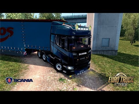 ETS2 1.30 Open Beta - Scania R730 - Bourges to Reims