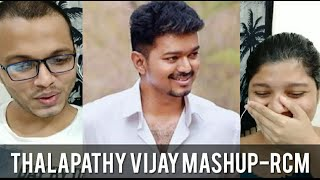 Thalapathy Vijay Birthday Mashup 2020 REACTION | Pranav Sri Prasad | RECit Reactions
