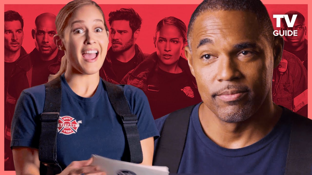 Download Station 19 Cast Plays Firefighter Trivia