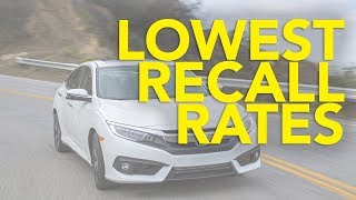Top 10 Cars with the Lowest Recall Rates   Cars that Rarely Get Recalled