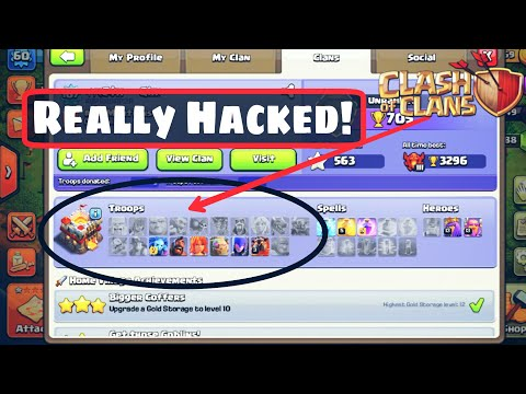 How to hack clash of clans(COC) 2017 in hindi