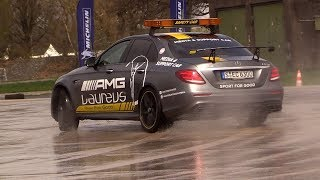 Mercedes-AMG E63 S - Trying to DRIFT!