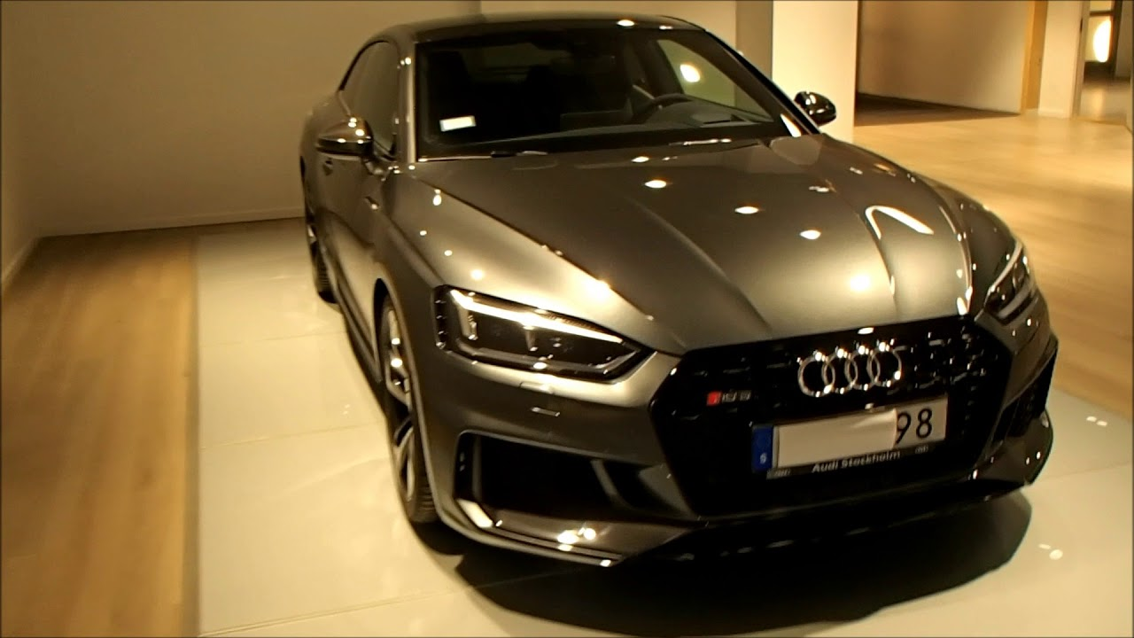 2018 Audi RS5 450 PS in Daytona gray (our new favorite color) - YouTube
