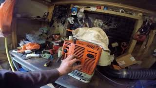 Stihl BR420 BackPack Blower Repair (Part 1) , (This is a good example, why you shouldn't lend tools)