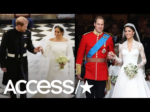 Prince Harry & Meghan Markle Vs. Prince William & Kate Middleton: How Their Weddings Compared