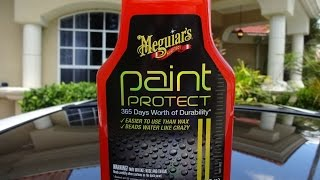 Meguiars Paint Protect Review and Water Test Results on a 1990 300zx