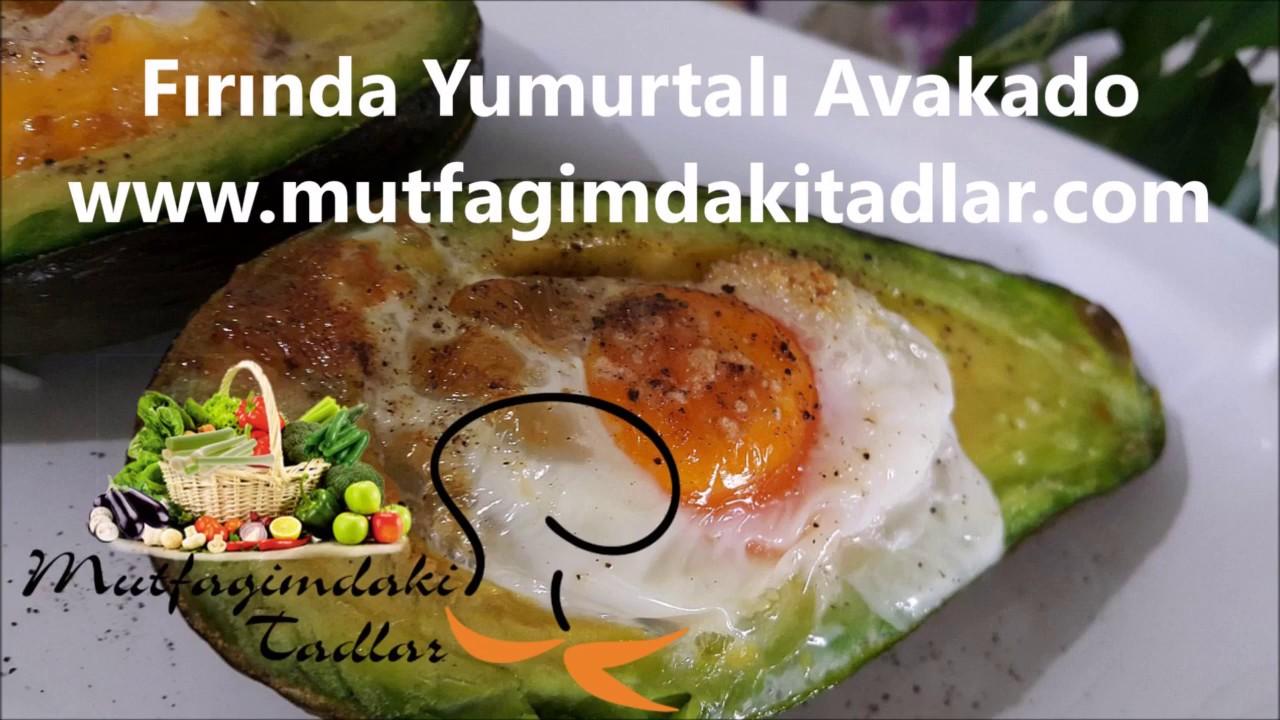 Fırında Avokadolu Yumurta
