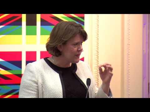 Culture Secretary Maria Miller praises growth of UK creative industries.