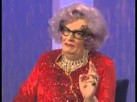 Dame Edna at the Michael Parkinson show PART 2