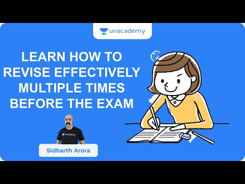 Learn How To Revise Effectively Multiple Times Before The Exam   UPSC CSE/IAS 2020   Sidharth Arora