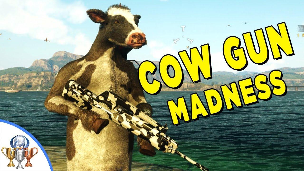 В Just Cause 4 нашли оружие, которое превращает всех людей в коров — видео