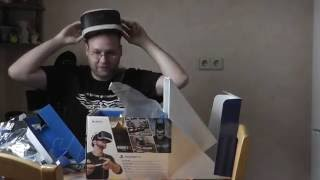 Playstation VR Unboxing - Playstation 4 Headset Virtual Reality deutsch PSVR Test Sony