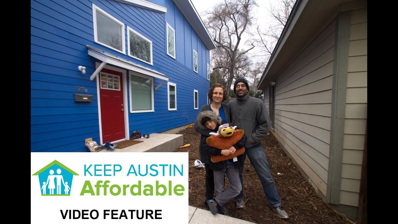 Family builds affordable secondary home through the alley for Accessory dwelling unit austin