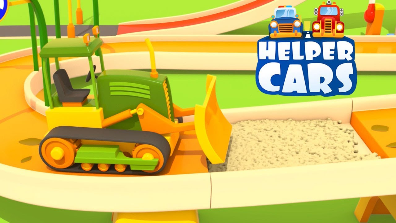 Youtube cartoni animati cars helper cars i lavori stradali for Blaze e le mega macchine youtube