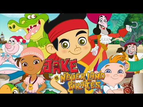 Jake and the Neverland Pirates Full Episodes of Various Disney Jr. Games in English - Walkthrough