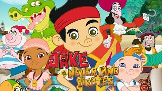 Jake and the Neverland Pirates Full Episodes of Various Disney Jr. Games (English) - Walkthrough