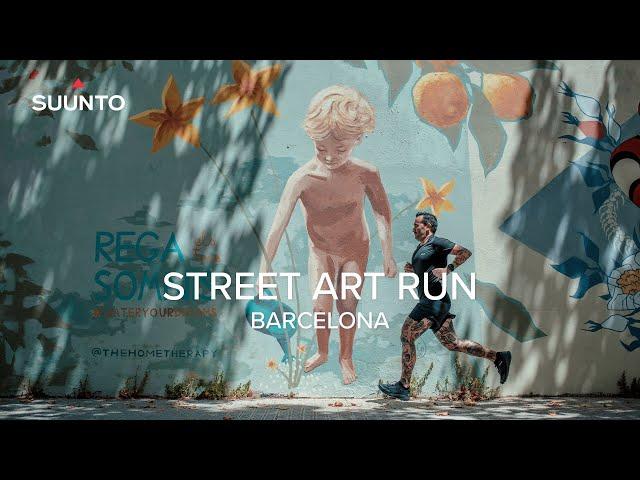 Suunto Street Art Run Barcelona