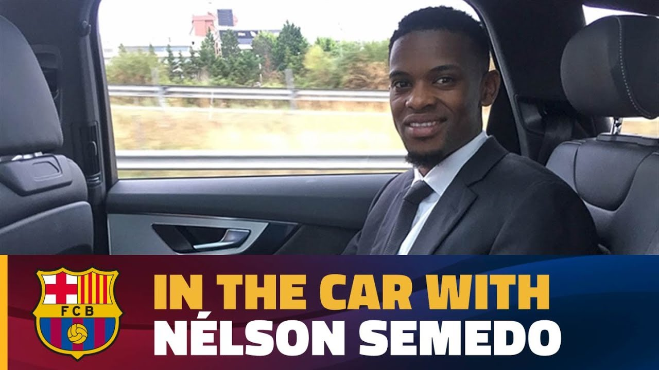 semedo-s-chat-in-the-car-on-his-way-to-the-camp-nou