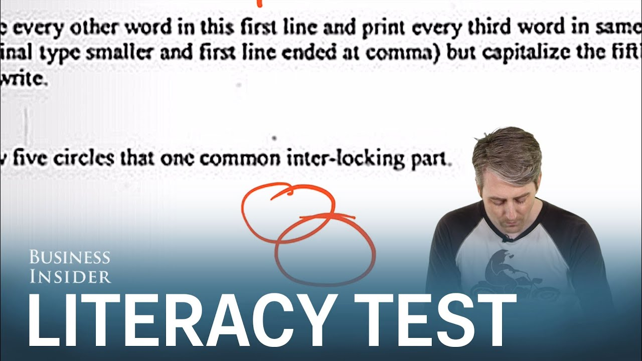 We Took A Louisiana Literacy Test And Failed Spectacularly Youtube