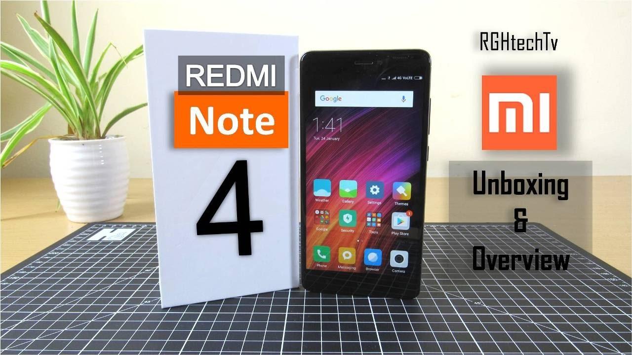 Redmi Note 4 Unboxing: Xiaomi Redmi Note 4 Unboxing + Setup + Mini Review