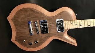 The Griffin - Custom Guitar Body Build