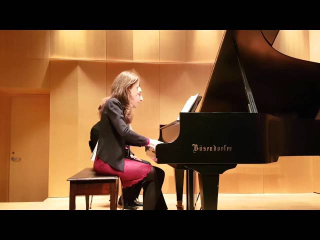 Studio de piano Tristan Lauber: Advanced : Nora and Tristan playing Fauré