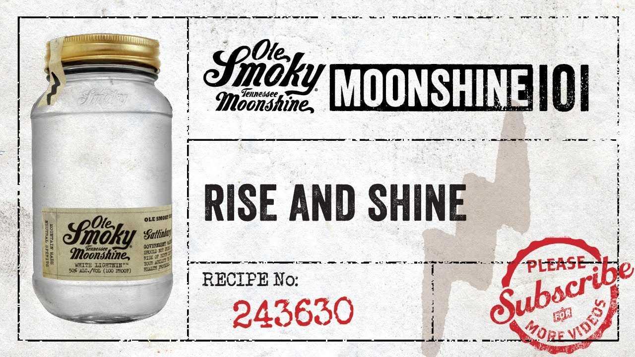 Image result for moonshine rise and shine