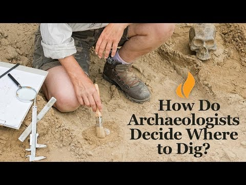 How Do Archaeologists Decide Where To Dig?   Introduction To Archaeology