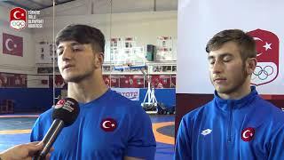 Güreş Yıldız Milli Takımımız Gençlik Olimpiyatları Hedefiyle Makedonya